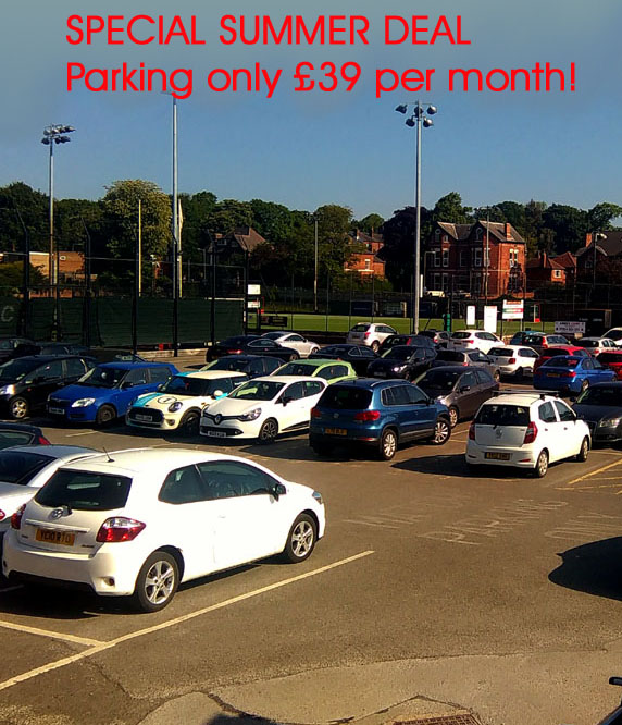 WSC Parking £39 per month