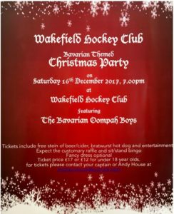 Hockey Club Party WSC